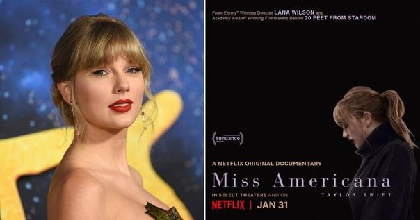 Netflix назвал дату премьеры документального фильма о Тейлор Свифт «Мисс Американа» Стала известна дата выхода документального кино об американской кантри и поп-исполнительнице Тейлор Свифт.