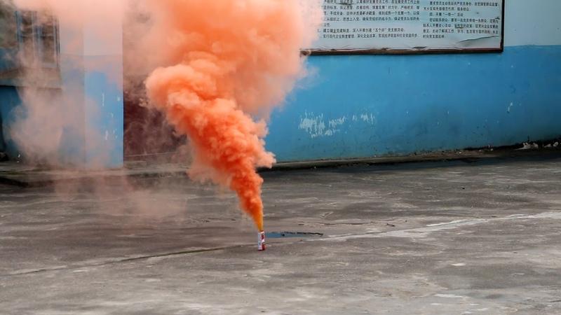 Дымовой фонтан оранжевый MA0509 O Maxsem