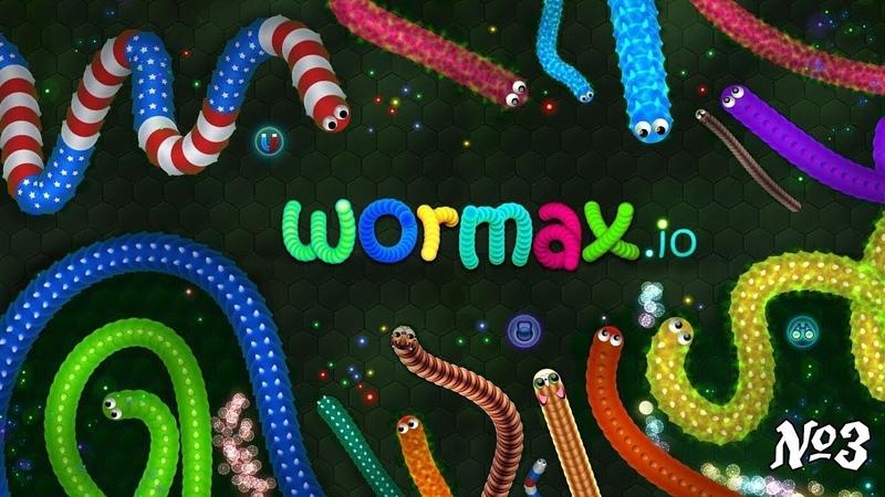 Стрим по игре: Wormax.io 3