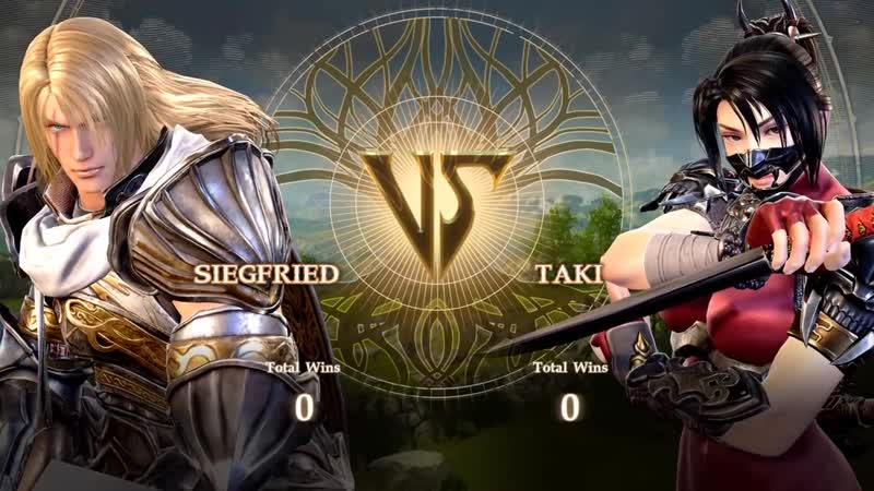 Soul Calibur VI PC Gameplay _ Siegfried, Taki, Geralt, and more!