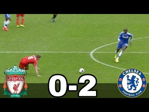 Liverpool vs Chelsea 0-2 2013/14 All Goals Extended Highlights w/English Commentary ●HD