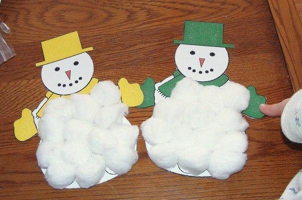 Как сделать снеговика из бумаги своими руками детям - ФоксТел-Юг