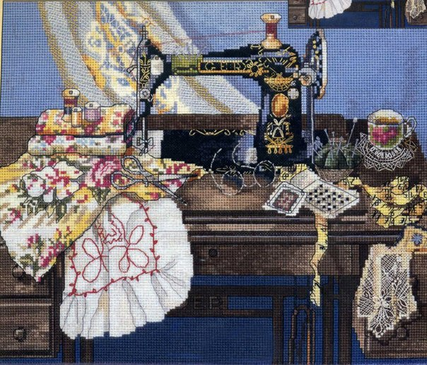 2 Мамина швейная машина