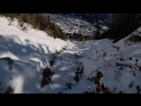 The French Alps seen through the eyes of a speedrider