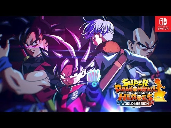 NS - Super Dragon Ball Heroes World Mission