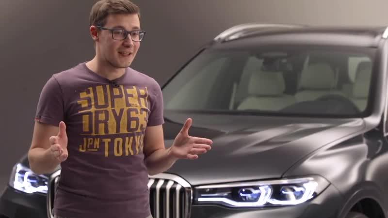 BMW X7_ СУПЕРЭКСКЛЮЗИВ. Первый обзор огромного кроссовера БМВ ИКС СЕМЬ