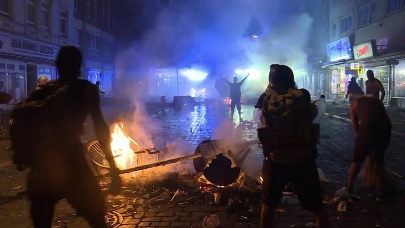 Als Hamburg brannte: Der Schwarze Block, die Krawall-Touristen und die Rolle der Polizei