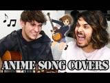 HOW MANY ANIME SONGS CAN WE COVER؟ (ft. Eddie van der Meer)