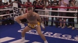 MCGREGOR warms up with weird arm swing and intense training rigime #coub