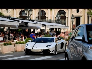 Supercars in Monaco 2013 - DMC Aventador, Mansory Stallone... PART 1
