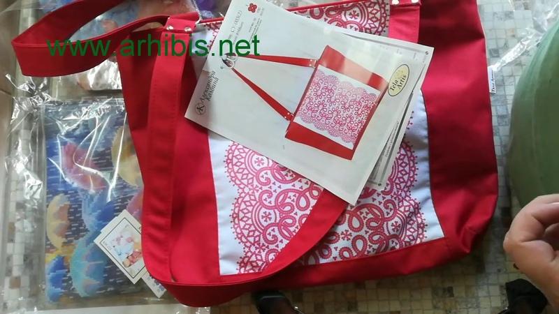 Пошитые сумки и косметички от Тела Артис