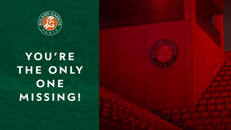 Youre the only one missing ! | Roland Garros 2019