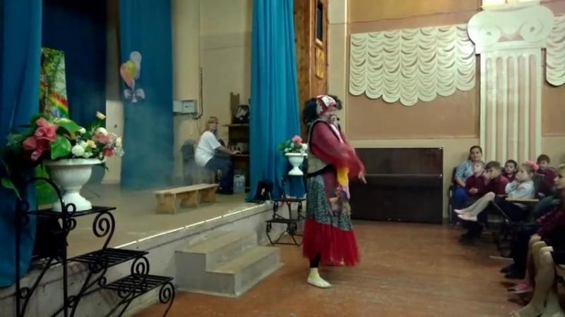 Спектакль Ульянка хулиганка. Эжвинский интернат-школа. Фонд през. грантов