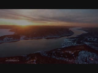 Best of winter Baikal Lake ice from above, aerial drone_ Красивое видео Лед озер