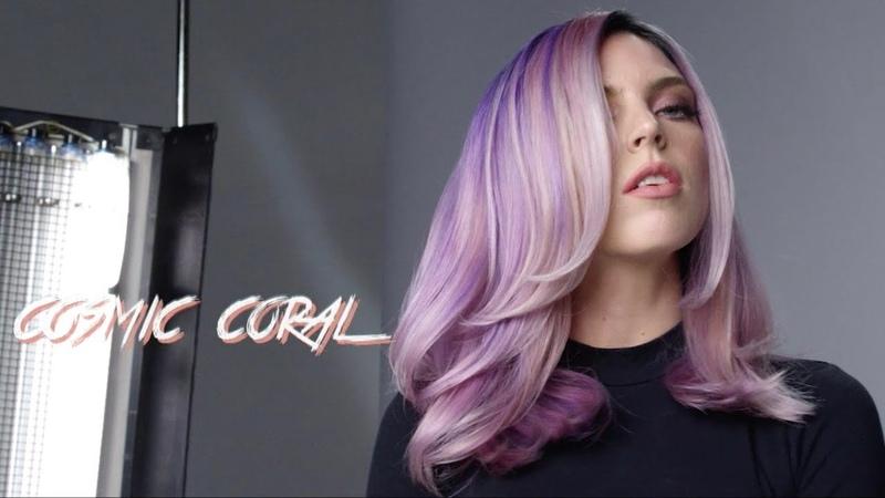 COSMIC CORAL Hair Transformation