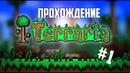 СТРОИМ ДОМ | Terraria 1