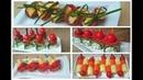 5 Быстрых Канапе на Праздничный Стол из Огурцов! 5 Fast Canapes on the Holiday Table of Cucumbers!
