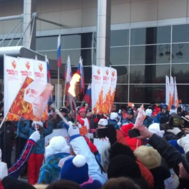 Эстафета олимпийского огня в Тюмени (текстовая онлайн-трансляция) 31