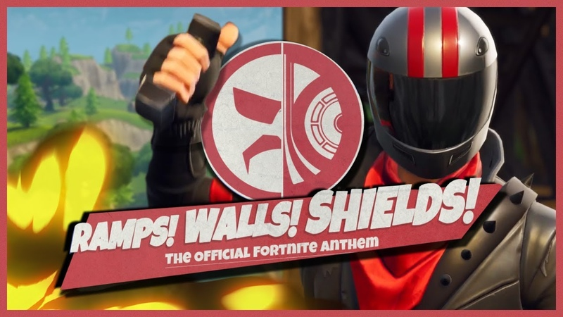 Ramps! Walls! Shields! - Docs Official Fortnite Anthem | By DrDisRespect and Starcadian