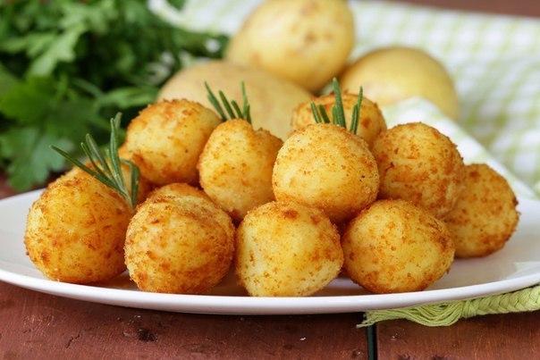Как приготовить комы из картофеля с фаршем