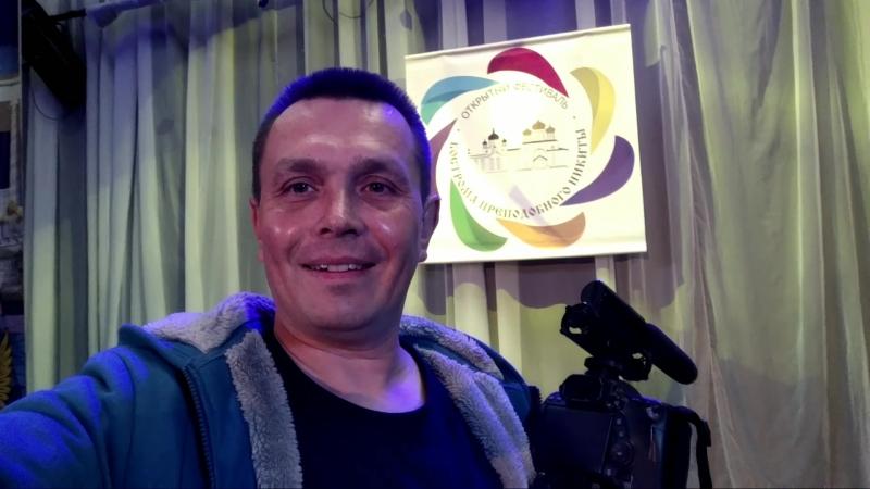 25 сентября 2018 снимаю фестиваль Преподобного Никиты г. Кострома