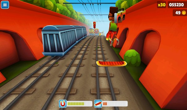 ігри subway surfers