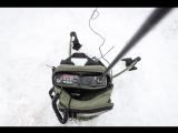 Радиосвязь на КВ с использованием мобильных антенн штырь 3м и луч 7м. Manpack Q-MAС.