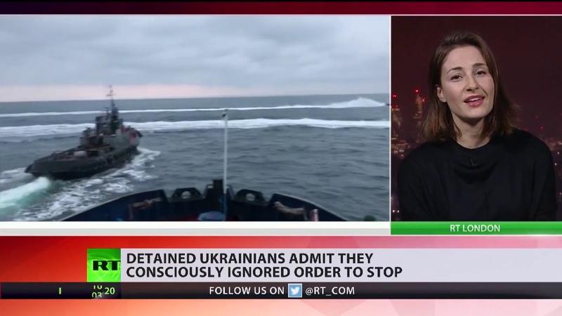Ukrainische Seeleute kommen vor ein russisches Gericht