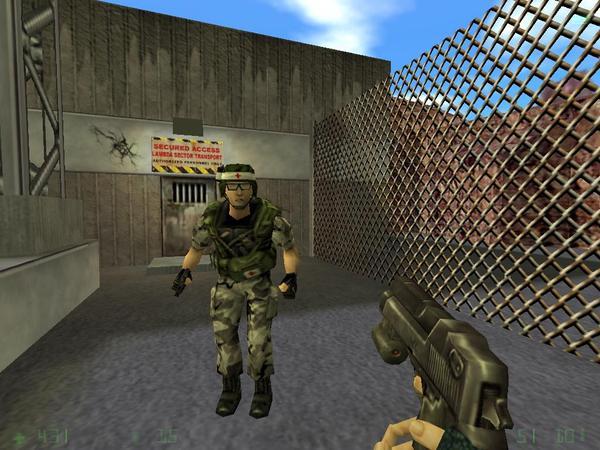 скачать игру халф лайф Opposing Force - фото 11