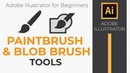 How to use the Paintbrush and Blob Brush Tools in Illustrator CC 2018