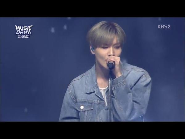 Taemin (태민) Despacito MUSIC BANK IN CHILE emitido por KBS el 11.04.2018