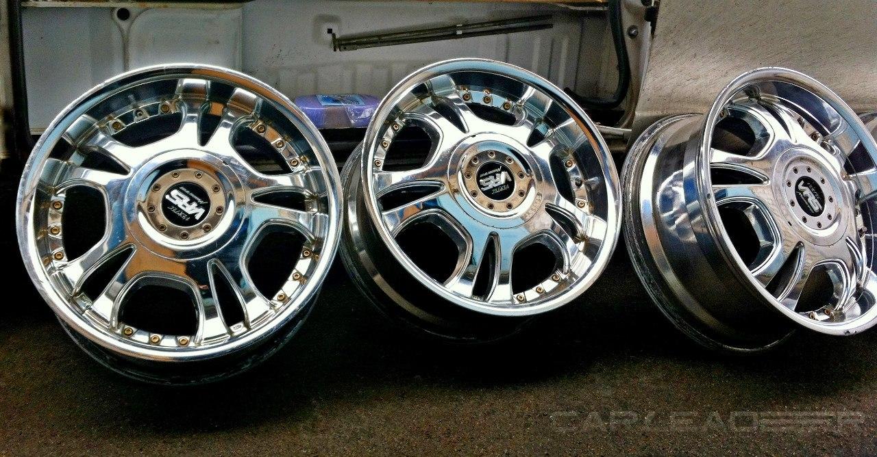Manaray Vertec Chrome wheel 17