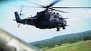 Летно-тактическое учение экипажей вертолетов Ми-24 и Ми-8 морской авиации Балтийского флота