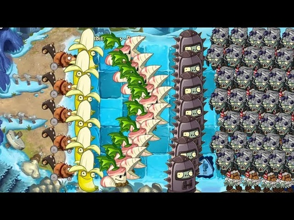 Banana Launcher, Lava Guava and Endurian - Plants vs Zombies 2