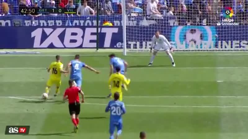 Хетафе Вильярреал Обзор матча Футбол Испания Примера Дивизион 18 мая LiveTV