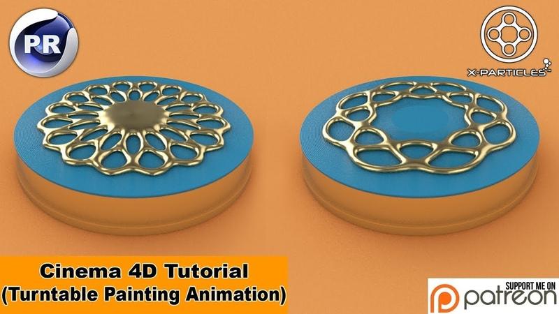 Turntable Painting (Cinema 4D Tutorial)