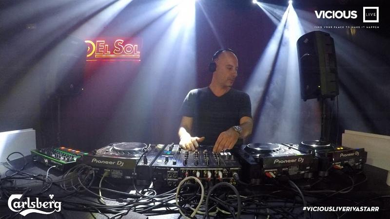 Riva Starr - Live @ Vicious x Carlsberg Sala El Sol, Madrid 28.06.2018