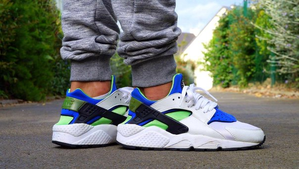 air huarache scream green