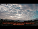 2018 Clouds Suppression Artificial Warm Front Headwinds and Artificial Rainfall 7 8 Oct