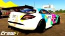 THE CREW 2 GOLD EDiTiON TUNiNG MERCEDES-BENZ SLR McLaren 722 GT PART 188 ...