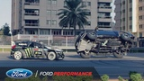 Ken Block's Ultimate Exotic Playground in Dubai Gymkhana Ford Performance
