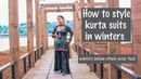 Winters Indian ethnic wear haul | How to style kurta suits in winters | Zoha Khan