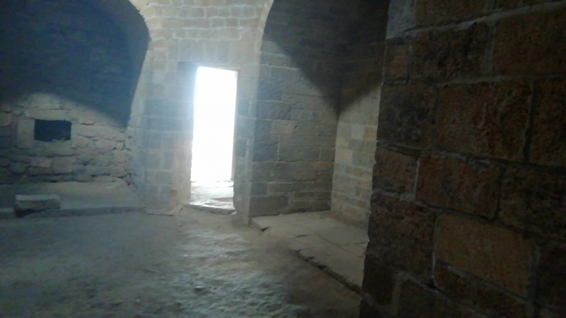 Ханские бани в крепости Нарын Кала