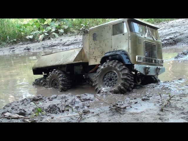 RC Trophy - mud diggers 8 - визги и брызги