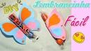 Бонбоньерка Бабочка для детского праздника Diy Lembrancinha borboleta para festas tema Jardim encantado passo a passo Montando minha festa