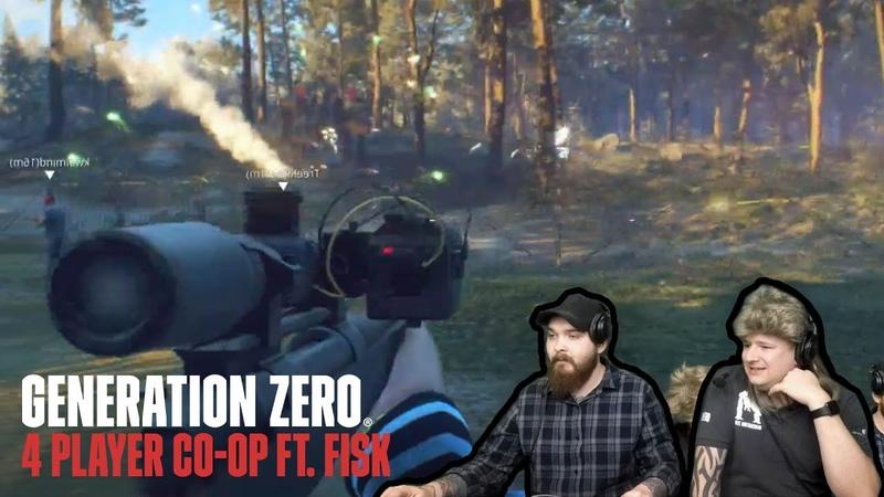 Generation Zero Co-op with Fisk!