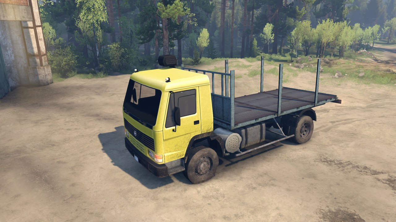 Volvo FL7 для Spintires - Скриншот 3
