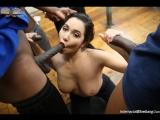 Белая и куча негров Karlee Grey - BlowBang 720p HD porno IR, Big Black Cock, BlowBang, Big Tits, Brunette, Bukakke