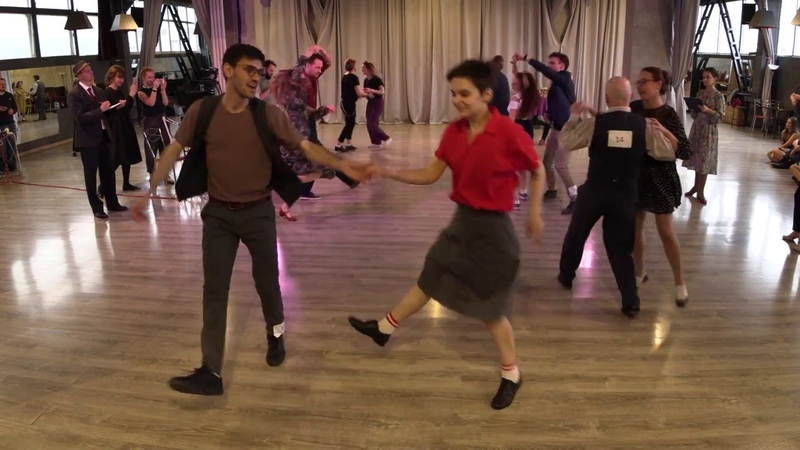 Lindy Hop Debut Prelims Heat 2 — Sultans of Swing 2018