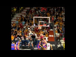 Lebron James - Подборка данков из NBA 2k13